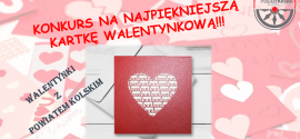 Starosta Kolski ogłasza konkurs plastyczny na najpiękniejszą kartkę walentynkową